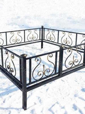 Ограда металлическая Б1117