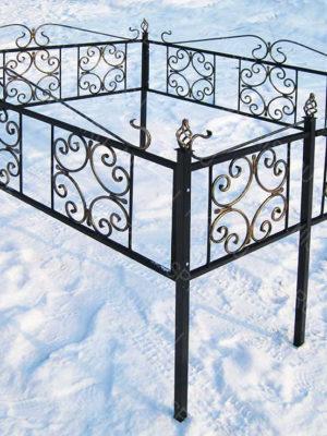 Ограда металлическая  Б1125