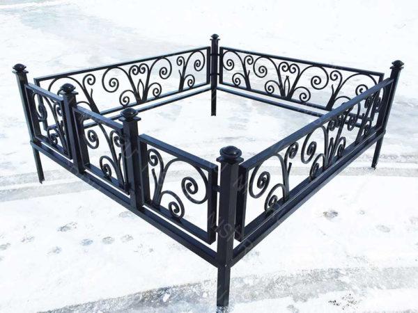 Ограда металлическая  Б1136