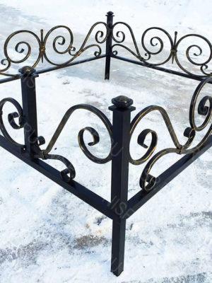 Ограда металлическая  Б1137